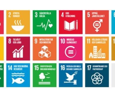 POD – 17 globala mål för en hållbar värld
