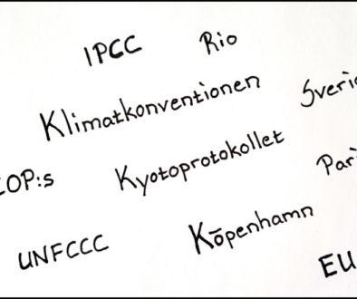 POD – De internationella klimatavtalens historia fram till idag
